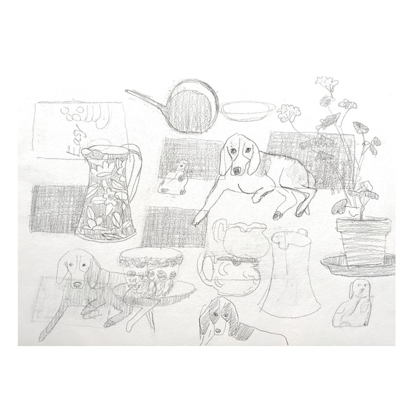 Jean Smith The dogs Pencil