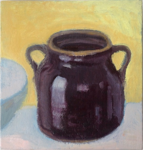 painting Bean Pot
