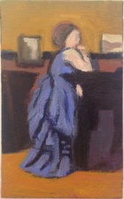 Jean Smith after famous paintings oil on canvas