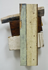 reAssemblages wood, beeswax, resin, gesso, collagraph