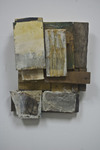 reAssemblages wood, beeswax, resin, pigment, paper, collagraph