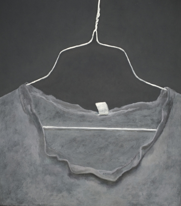 Still-lifes Old gray t-shirt
