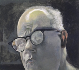 Jeffrey Saldinger Self-portrait paintings oil on canvas