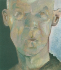 Jeffrey Saldinger Self-portrait paintings oil on linen