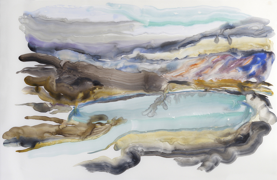 Paintings Icelandic Lake