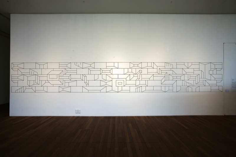 Installation Tape on Wall
