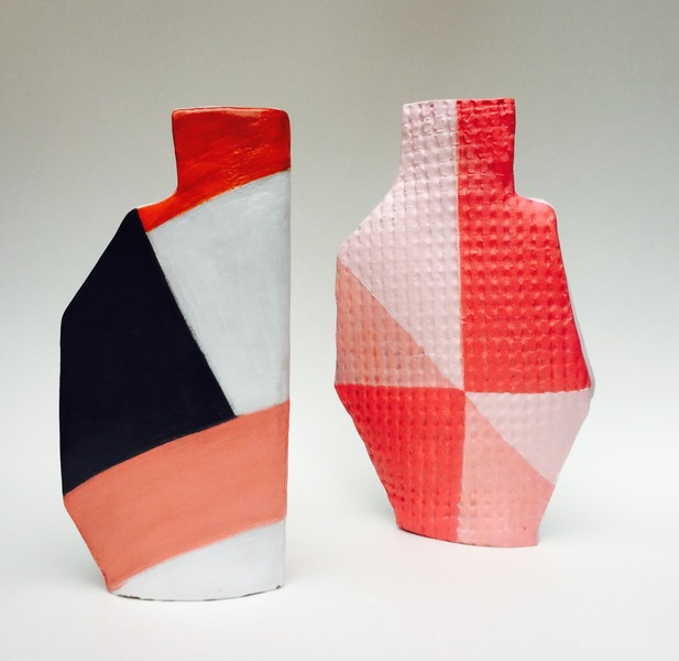 Handbuilt Ceramics Two sided vessels