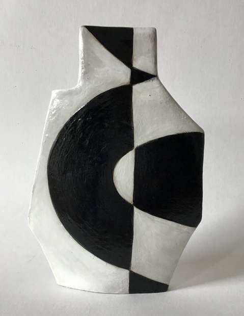Handbuilt Ceramics Two sided vessel