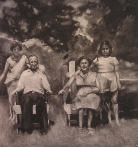 Works on paper Family Portrait