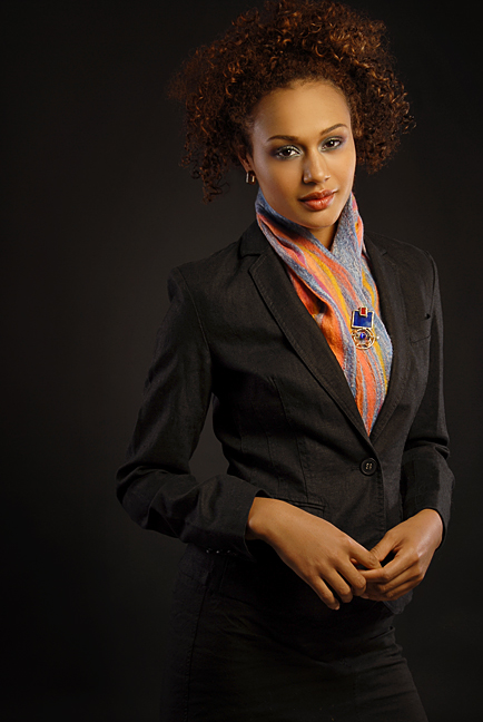 Wearable Art: Harlequin Feltworks Lines Scarf