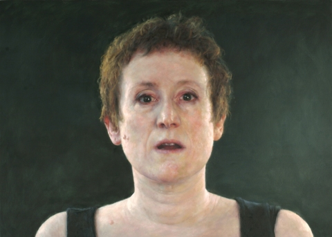 "2007 ""Self-portrait with dark ground"""
