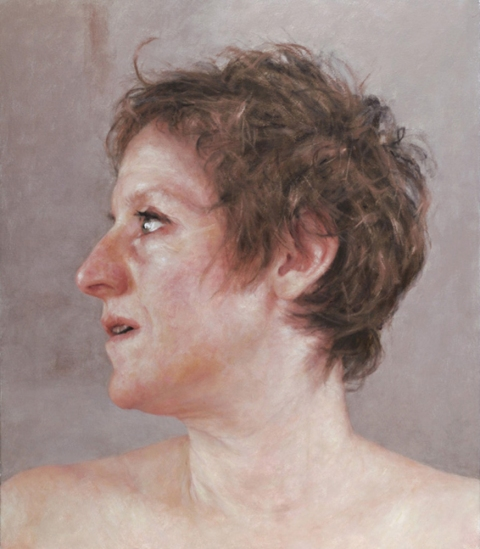 2007 Self-portrait Turned to the Side