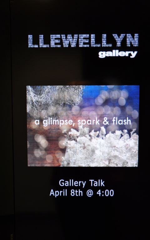 A Glimpse, Spark & Flash solo exhibition