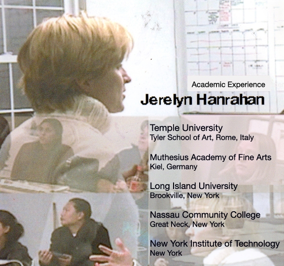Jerelyn Hanrahan ACADEMIC LECTURES ON CONTEMPORARY ART