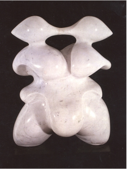 Jerelyn Hanrahan SCULPTURE carrara marble