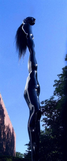 Jerelyn Hanrahan SCULPTURE cast statuary, horsehair
