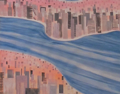 Sundown Painting, detail