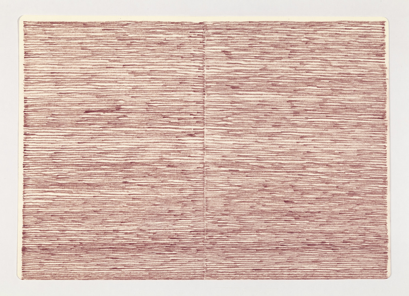 JESSICA DICKINSON from: notebook drawings and notations >  James Fuentes Online > July 15–August 15, 2020 colored pencil on paper