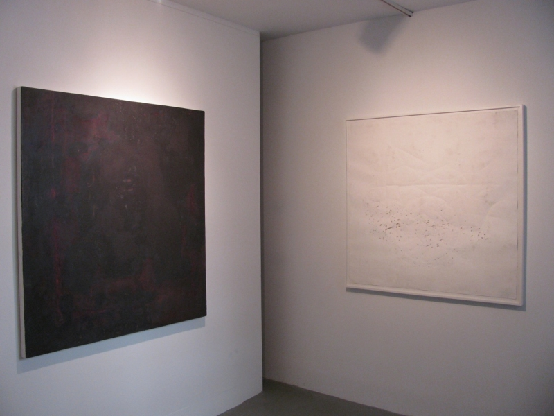 "JESSICA DICKINSON HERE > James Fuentes > 2009 L>R: ""Flash-Shift"", ""Before-Almost"""