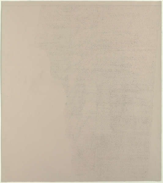 JESSICA DICKINSON Towards- / Full-See / Already. >Frieze London >2010 Graphite on paper