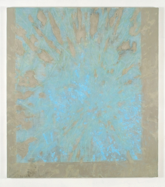 JESSICA DICKINSON HERE > James Fuentes > 2009 oil on limestone polymer on panel