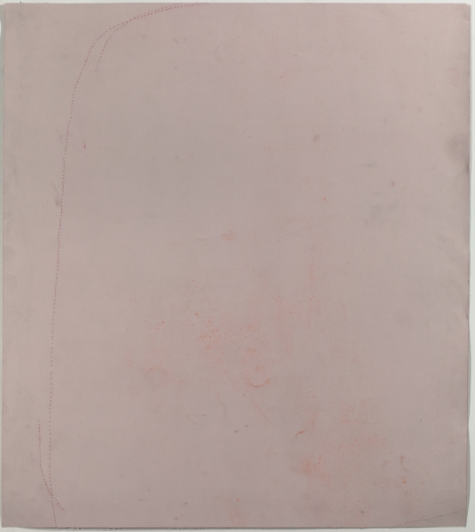 JESSICA DICKINSON traces pastel on paper