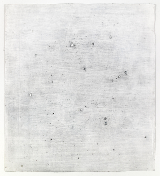 JESSICA DICKINSON Of- > Altman Siegel Gallery > 2013  pastel, graphite and gouache on paper with holes