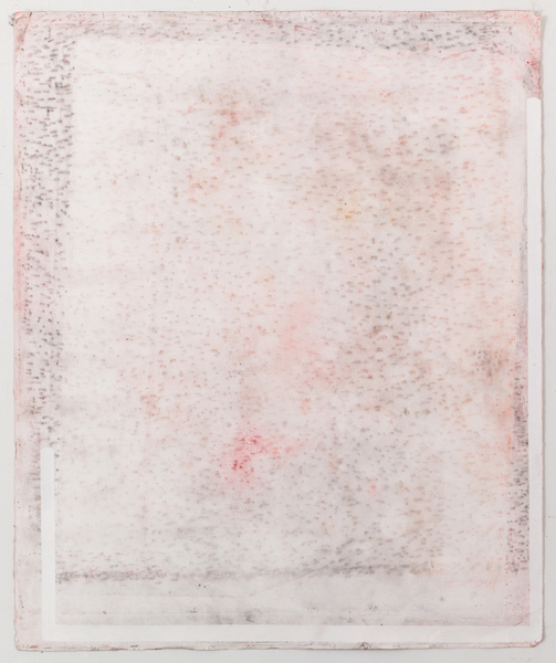 JESSICA DICKINSON works on paper gouache, pastel, graphite and dust on paper with holes