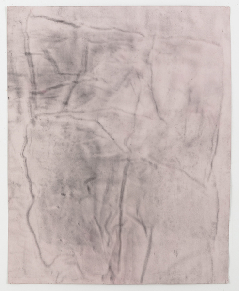 JESSICA DICKINSON traces graphite and dust on paper