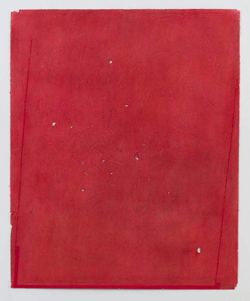JESSICA DICKINSON works on paper gouache, graphite, wax oil pastel on paper with holes