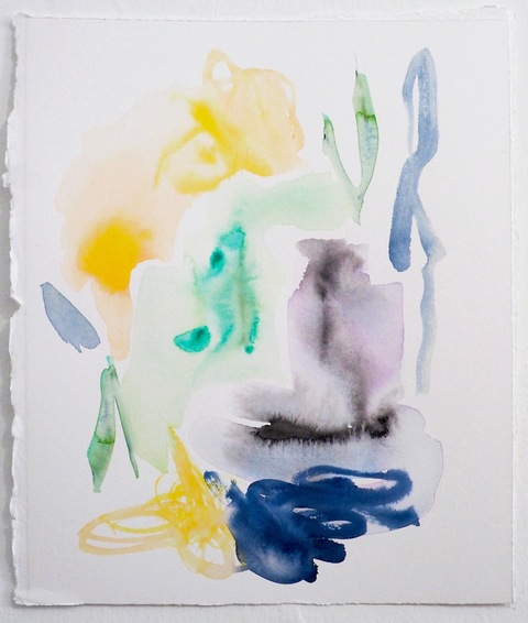 Jessica Snow Works on Paper Watercolor on Arches 300 lb. hot press paper