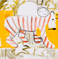 Recent Drawings gouache on watercolor paper