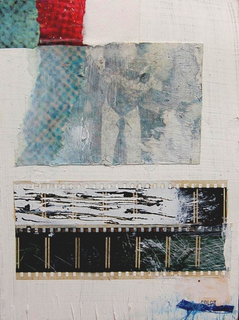 Jill Kirschen Mixed Media Photo Transfer and Mixed Media