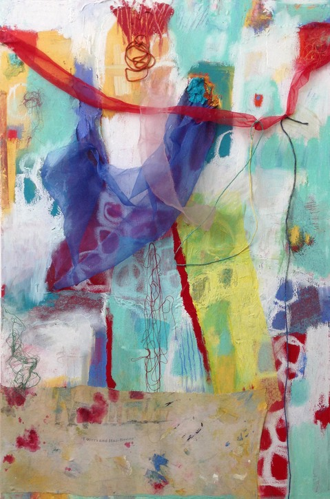 Jill Kirschen Recent Work Mixed Media