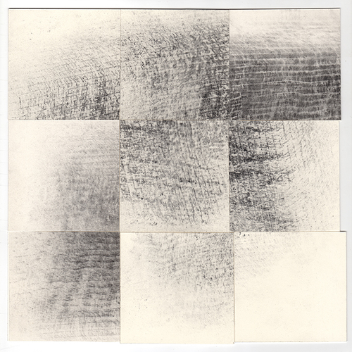 Jill O'Bryan Grid Drawings graphite on paper