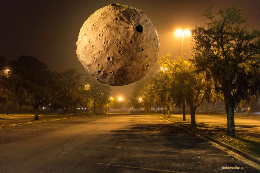 Photography Planetoid Parking