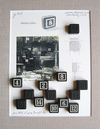 THE PARIS PROJECT Paper, photograph, wooden number blocks
