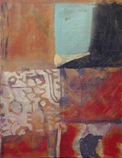 Joan K. Russell more acrylic/ mixed media on canvas