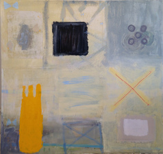 Joan K. Russell 2015 abstract MIXED MEDIA ON CANVAS