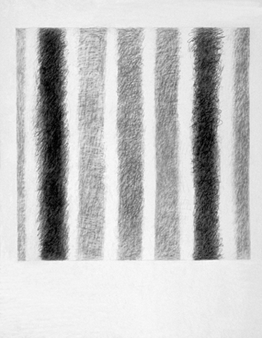 Joan Mellon Works on Paper 2007-2010 graphite on paper