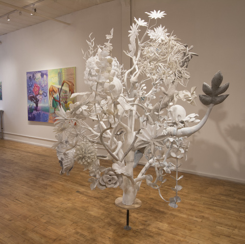 JoAnne Carson Sculptures Exhibition at Black and White Gallery, Brooklyn 2017