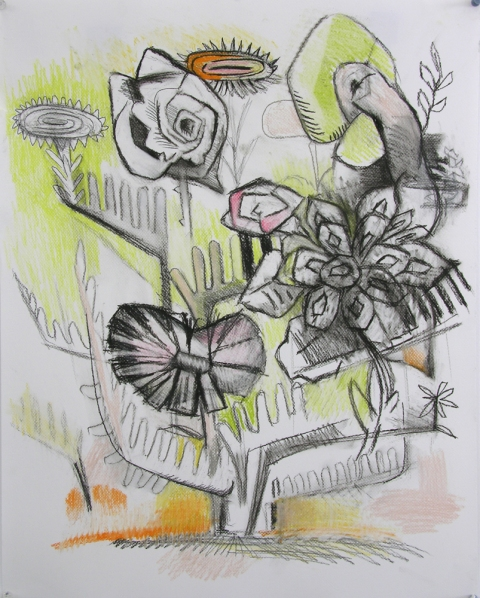 JoAnne Carson Drawings  Charcoal and Pastel