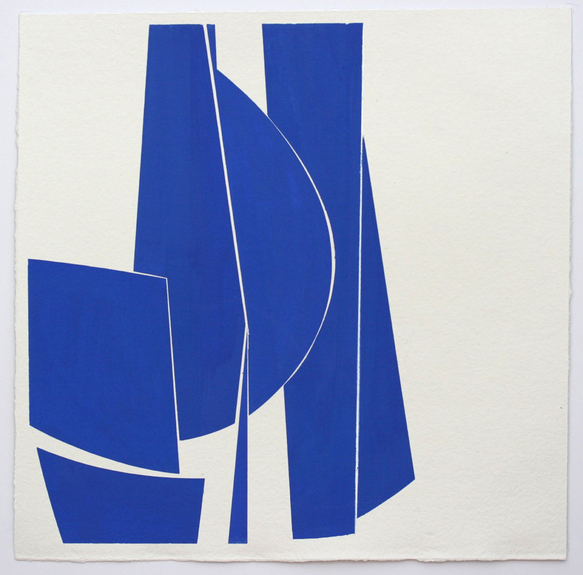 Joanne Freeman 2015-17 Gouache on handmade paper