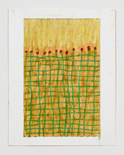 Jodie Manasevit Oil stick drawings 2017-20 Oil sticks on paper