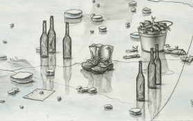 Joe Biel Large Drawings Graphite andColored Pencil on Paper