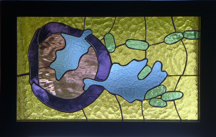 Bio-Stained Glass Migration (Leukocyte Extravasation)