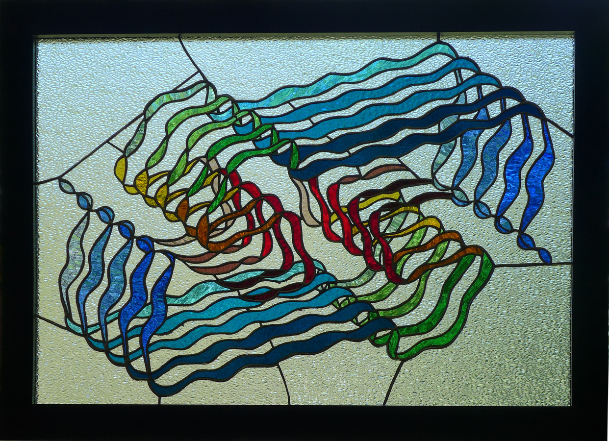 Bio-Stained Glass Loss (Beta-Amyloid Fibril, Osaka Mutation) (SOLD)
