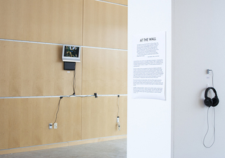 JOE SAPHIRE | projects in art and media At the Wall