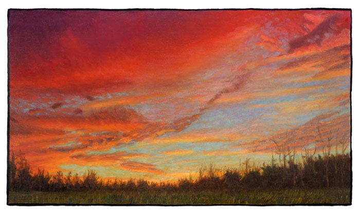 Prints Twilight in Alamance County