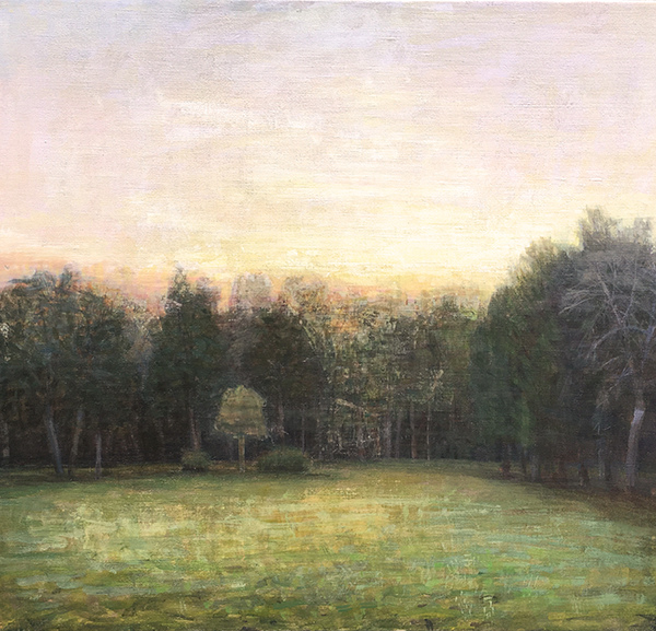Paintings: 2017 – 2019 South Field, Chatwood, Late Summer Twilight